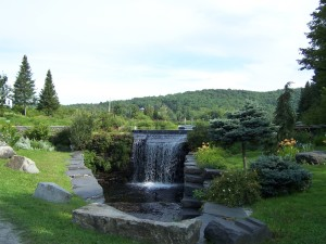 Image of waterfall in Adamant, Vermont