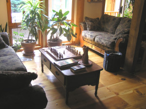 A place for our discussions, or maybe a game of chess.