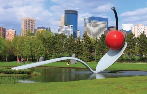 Ah, Minneapolis. Known the world over for its giant spoons. Also, 12,000 writers will be there for AWP, and Mud Season Review will be there, too!