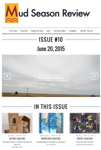 Mud Season Review literary journal issue #10