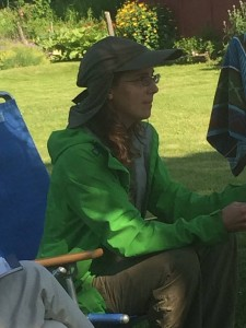 Rebecca Starks, Mud Season Review editor-in-chief, leads the BWW's 2015 Free Poetry Retreat