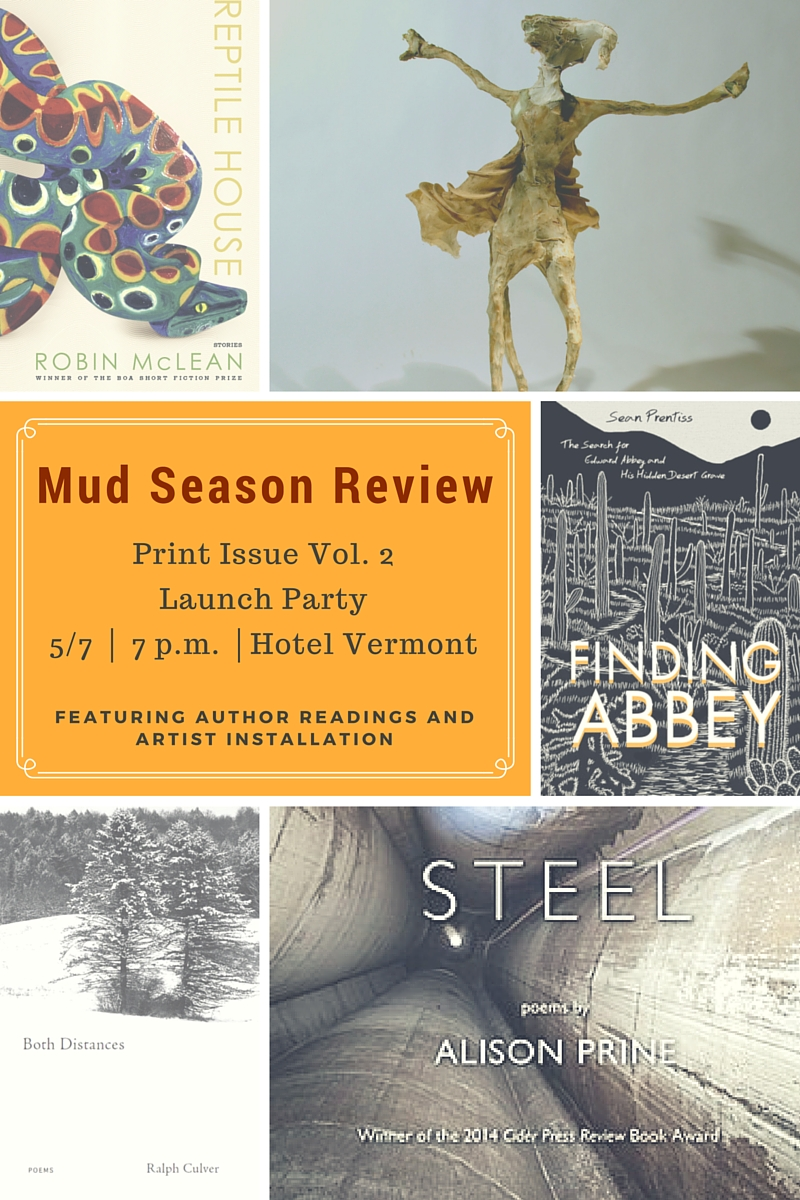 Mud Season Review print issue vol. 2 launch party