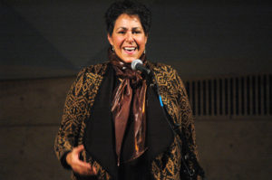 Deena Frankel, leader of the BWW oral storytelling workshop