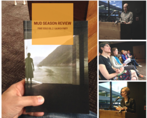 Mud Season Review launch party
