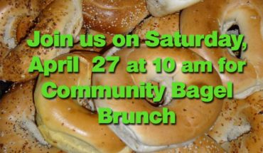 Burlington Writers Workshop Bagel Brunch